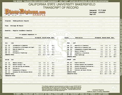 college transcripts template for buy college transcripts order and faq phonydiploma