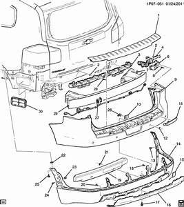 Chevrolet Orlando Fascia  Front And Rear Bumper  Fascia