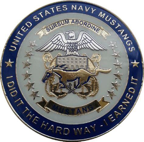 cwo navy us navy mustang medallion cyclone coins dba hudson