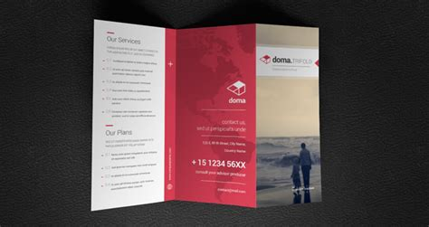 Tri Fold Brochures Templates by Tri Fold Brochures Templates Doma Tri Fold Brochure