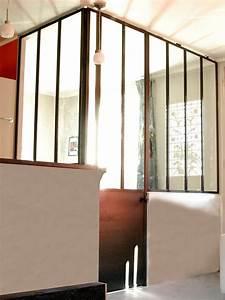 Verriere Interieure Metallique : verri re int rieure d 39 atelier en angle les ateliers du 4 ~ Premium-room.com Idées de Décoration