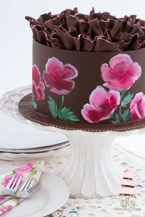 paint flowers  cakes  tutorial  craftsy