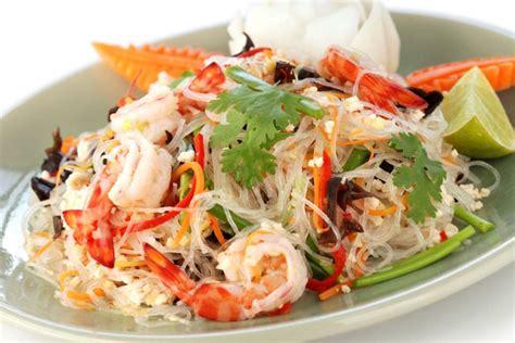 cuisine thailandaise recettes recette vermicelles thaï aux fruits de mer jevto bond