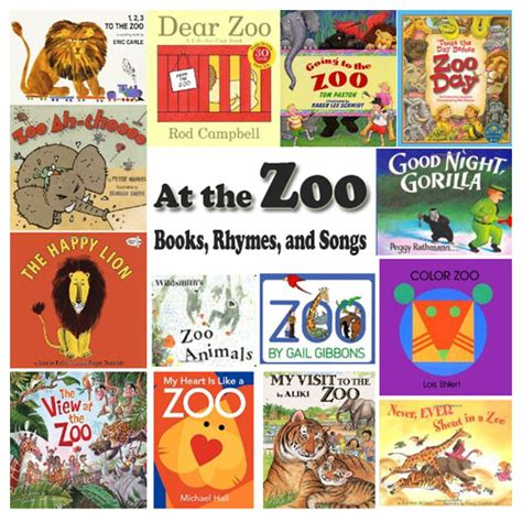 books about the zoo for preschoolers zoo animals books rhymes and songs kidssoup 406