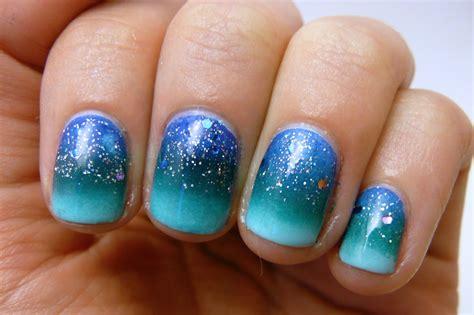 casa de polish ocean gradient nails