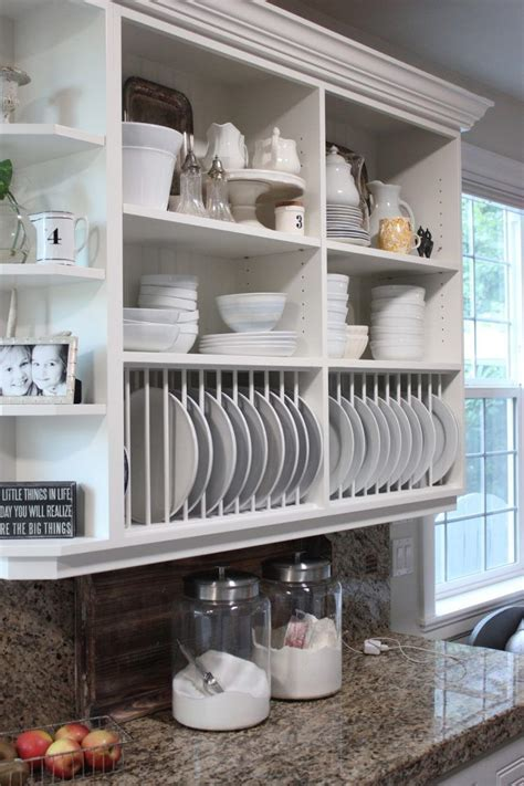 open kitchen cabinets    great alternative  standard upper cabinets   perfect