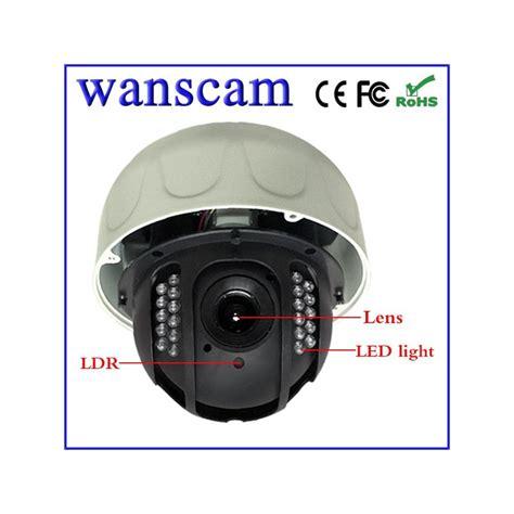 jw0010 233 ra ip dome ext 233 rieur motoris 233 e wifi vga avec vision de nuit wanscam 233 quivalent