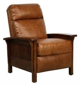 Mission Chair Recliner by Barcalounger Craftsman Ii Vintage Reserve Leather Recliner