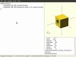 Rotation Berechnen : campis fabbing blog ein kleines openscad tutorial ~ Themetempest.com Abrechnung
