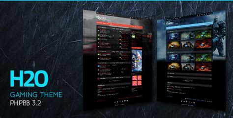 Action / Gaming Responsive Phpbb 3.2 Theme By
