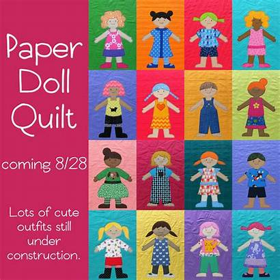 Doll Quilt Paper Dolls Patterns Quilts Blanket
