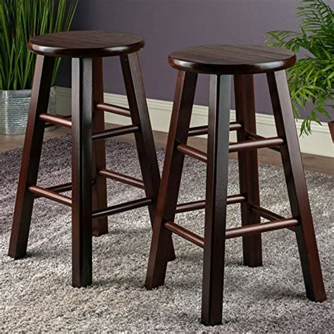 square counter stools winsome 24 inch square leg counter stool set of 2 jongo 2439