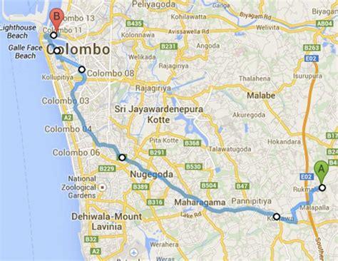 Sri Lanka Bus Routes Routemaster Lk Sri Lanka Bus Maps And