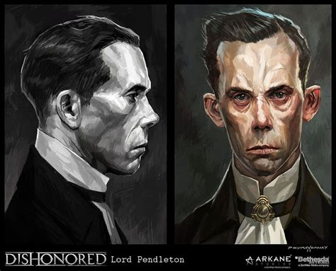Dishonored Was Such A Beautiful Video Game Character Art