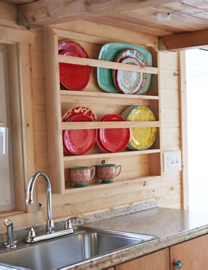 wooden plate rack plans ana white