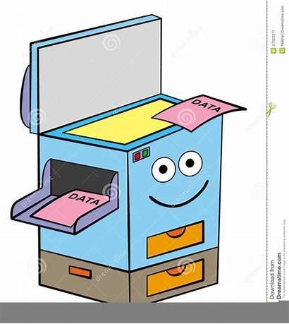 Xerox Machine Clipart Copier Copy Funny Clip