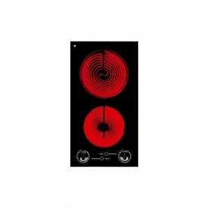 Plaque Vitro 2 Feux : plaque de cuisson 2 feux vitroc ramique verre noir frionor ~ Dailycaller-alerts.com Idées de Décoration