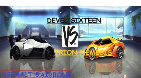 devel sixteen prototype devel sixteen prototype vs trion nemesis youtube