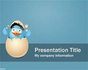 Twitter Background PowerPoint PPT Template