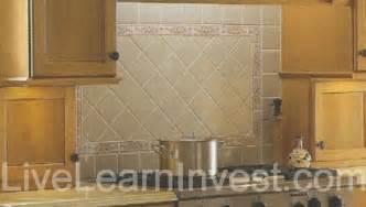 kitchen backsplash tile patterns granite countertops and kitchen tile backsplashes live learn invest
