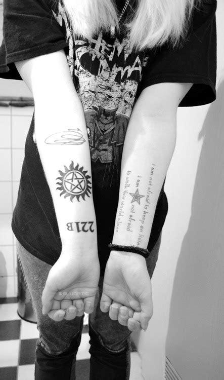 supernatural tattoo on Tumblr