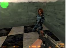 Nice girls in uniform for hostages CounterStrike 16