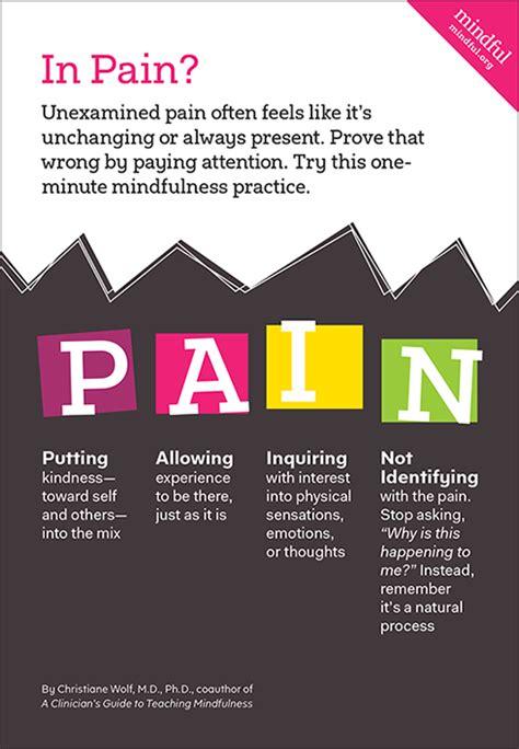 pain   mindfulness exercise