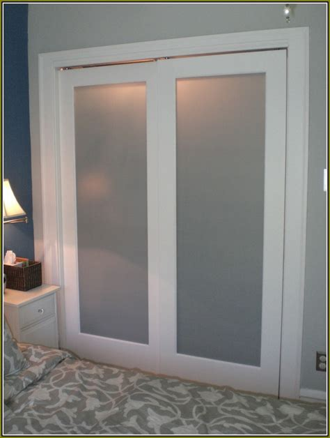 frosted glass closet doors home design ideas