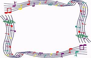 Musical borders colorful music clipart border clipartfest ...