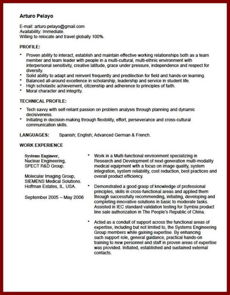 Resume Abroad Format by Cover Letter For Study Abroad Sle Docoments Ojazlink