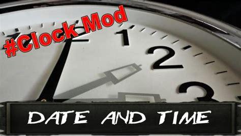date mod fs17 mods farming simulator v1 ls17 clock fs ls v2 hora daty godziny combine tractor eco easy super