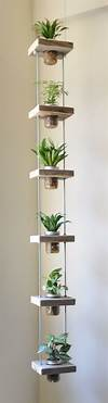 44 Awesome Indoor Garden and Planters Ideas | Butterbin indoor hanging garden ideas