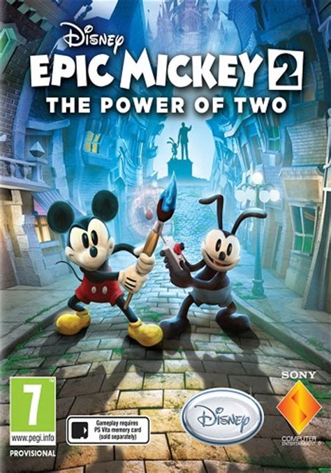Epic Mickey 2 The Power Of Two Download Free Full Game