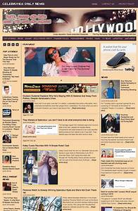 Celebrities news aggregator ahead hosting for News aggregator template