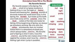 Essay Organizer Cc7106 How To Write An Essay Descriptive Essay Mini Youtube