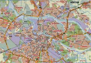 map of map of wroclaw