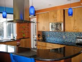 blue backsplash kitchen colorful kitchen designs kitchen ideas design with cabinets islands backsplashes hgtv