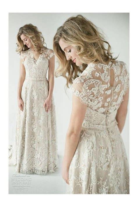vestidos de novia baratos  sencillos  de encaje