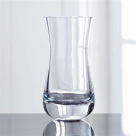 pera curved glass vase reviews crate  barrel
