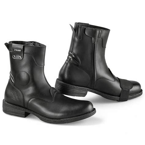 buy motorcycle waterproof boots falco pepper 2 city waterproof leather motorcycle casual