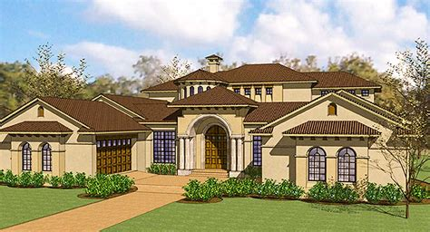 exciting courtyard mediterranean home plan wg architectural designs house plans