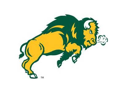 Bison Dakota North State Ndsu Logos Football