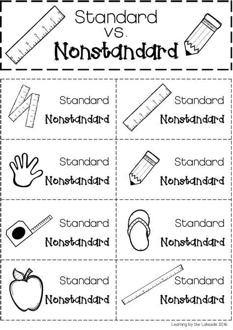 Standard vs. Nonstandard Measurement | Nonstandard
