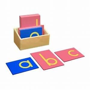 montessori sandpaper letters With sandpaper letters