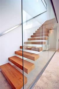 Escalier En U : escalier suspendu minimaliste gen ve kozac ~ Farleysfitness.com Idées de Décoration