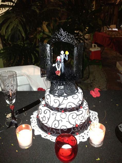 jack  sally wedding cake  rebel chick