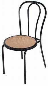 Chaise Bistrot Metal : chaise parisienne noire mobilier location ~ Teatrodelosmanantiales.com Idées de Décoration