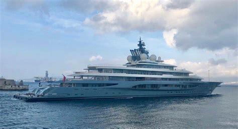 Flying Fox Yacht Owner Jeff Bezos
