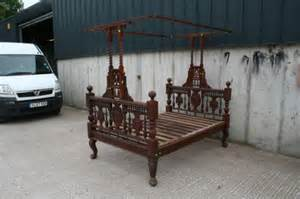 Victorian Antique Canopy Bed