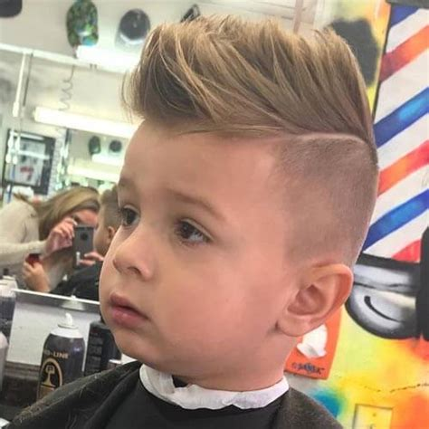 Boy Faux Hawk Hairstyle by The Adorable Boy Haircuts You Your Will